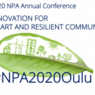 NPA Annual Conference 2020: Innovation for Smart and Resilient Communities